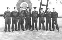 The crew of Halifax LL123 - Click for a bigger picture