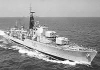 Royal Navy (Daring Class) Fleet Destroyer HMS Diamond